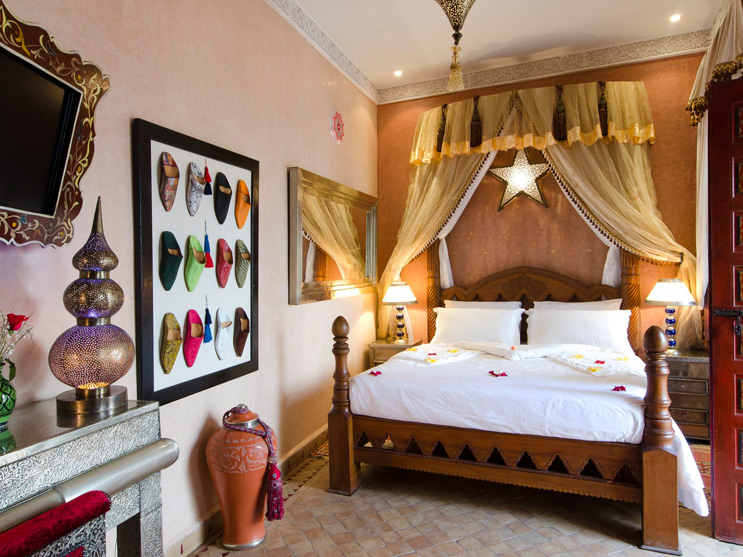 Riad Hikaya Bedroom